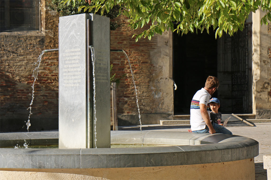 Fontaine cathédrale Eauze