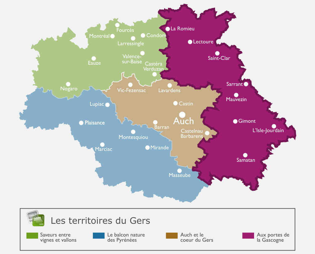 Map Of France Gascony.Discover Visit The Gates Of Gascony Guide Du Gers
