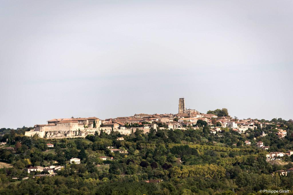 Le beau village de Lectoure