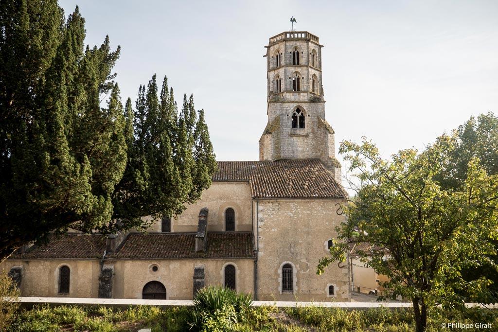 Mauvezin et son imposant clocher