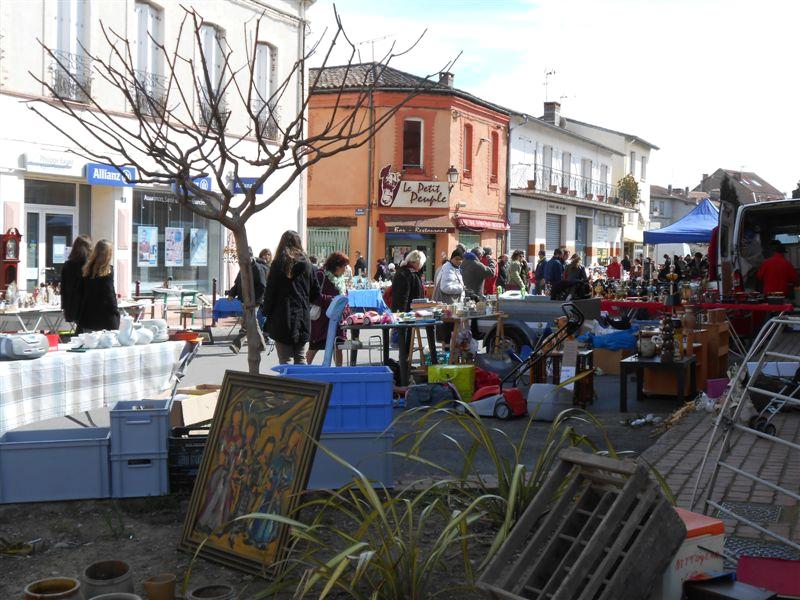 Le fameux marché de Samatan