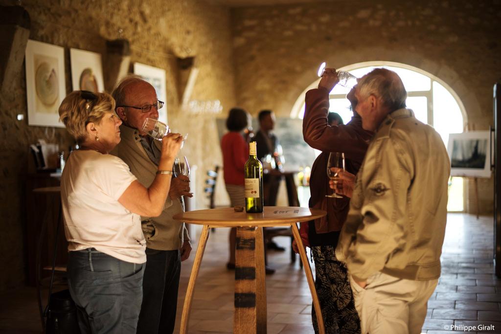 Degustation de vin chez les producteurs