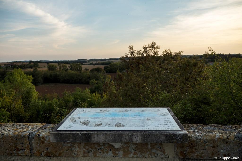 Table d'orientation de Valence-sur-Baïse