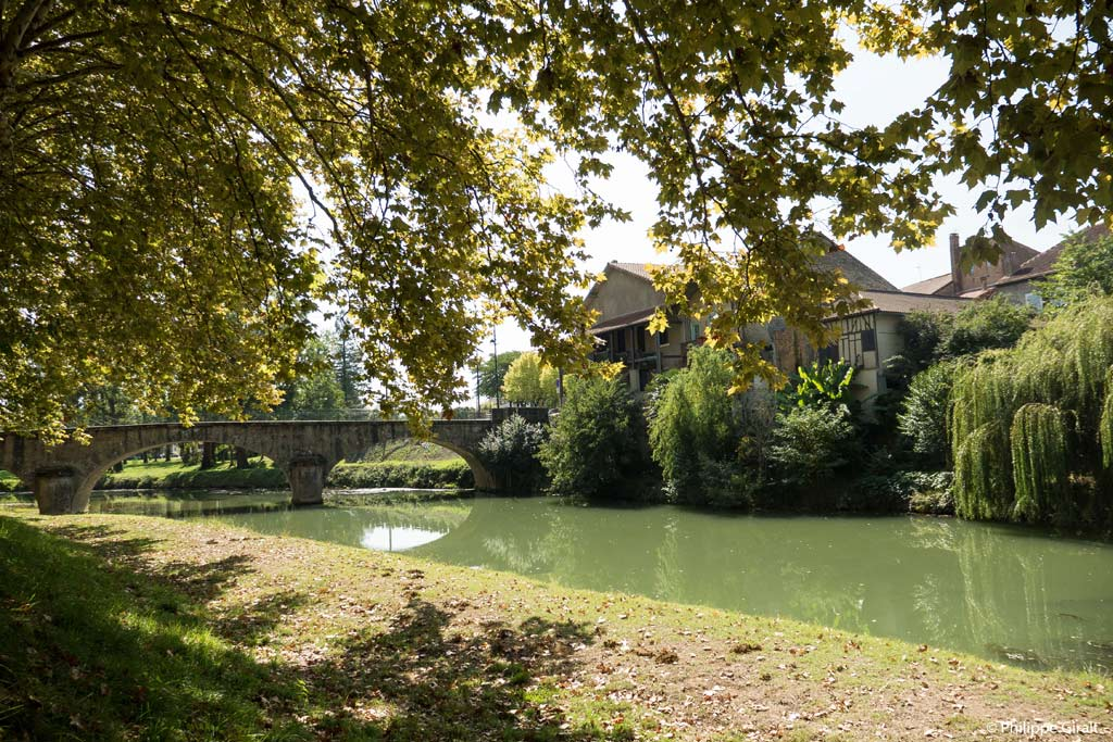 Rivières du Gers, ici à Plaisance