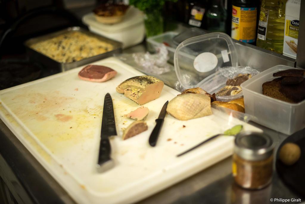 L'endroit idéal pour trouver du foie-gras, le marché !