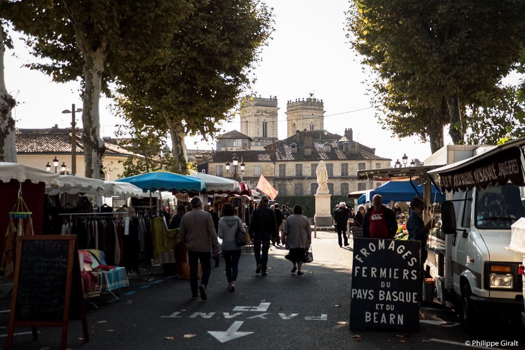 Les marchés du Gers sont réputés pour leurs produits frais et gourmands