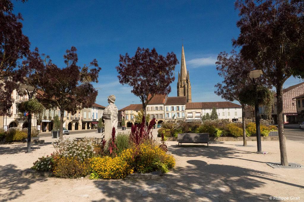 Centre ville de Marciac