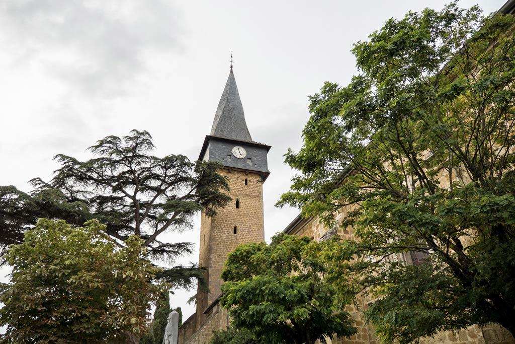 Le clocher helicoïdal de Barran