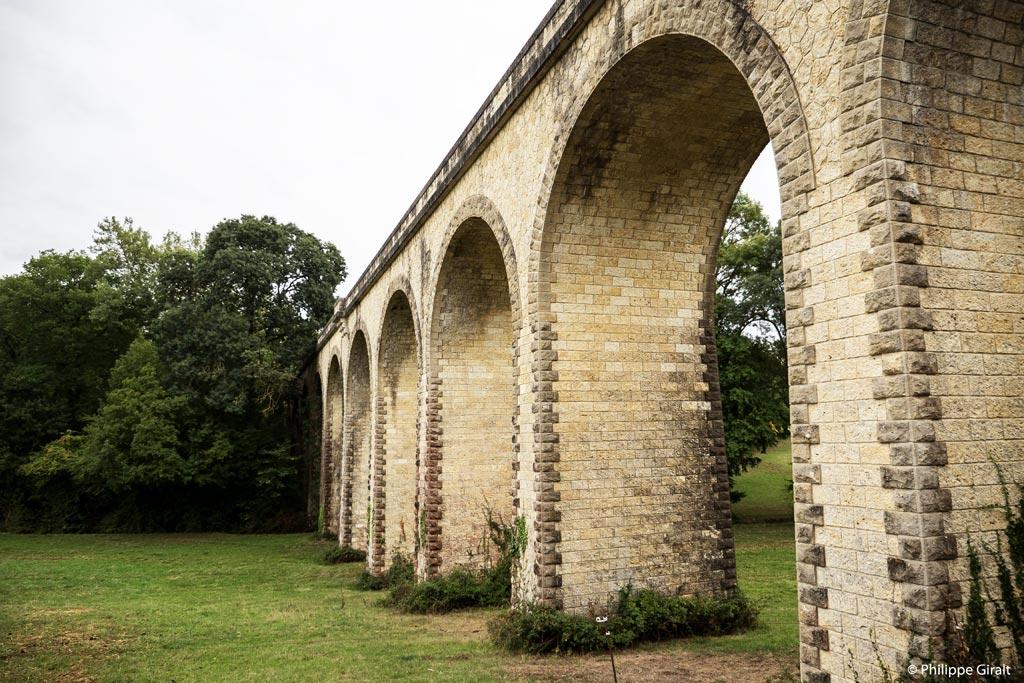 Le viaduc de Castin et ses arches